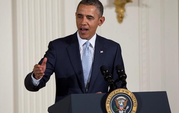 Обама обвинил Россию в  поддержке действий вооруженных сепаратистов  на Юго-Востоке Украины