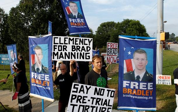 Американскому рядовому Брэдли Мэннингу, сотрудничавшему с Wikileaks, отказали в помиловании