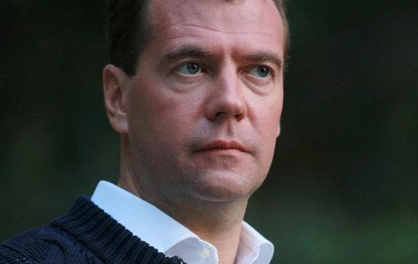 Медведев назвал ситуацию в Украине  предчувствием гражданской войны