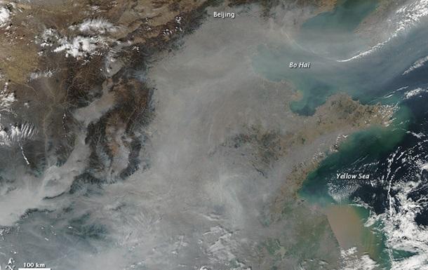 Грязный воздух Азии влияет на погоду во всем мире - ученые