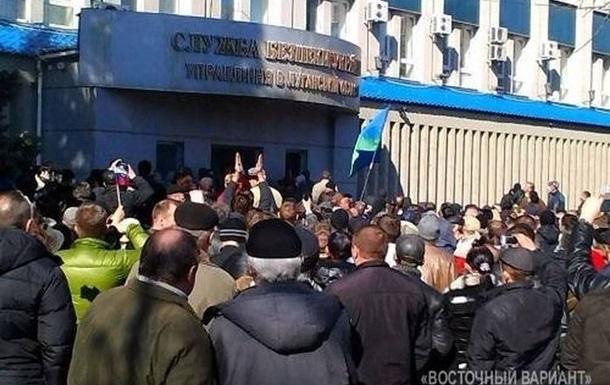 СБУ задержала одного из организаторов массовых беспорядков в Луганске