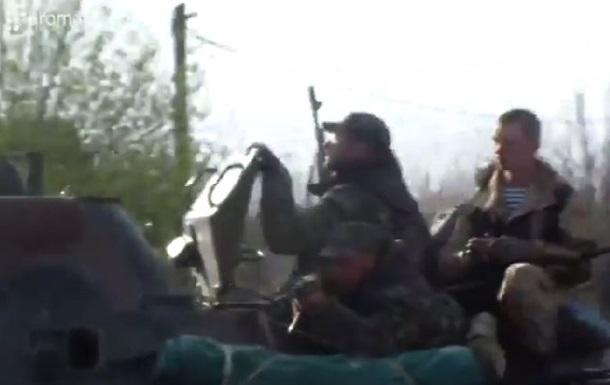 Украинские военные прорывались через Краматорск (видео)