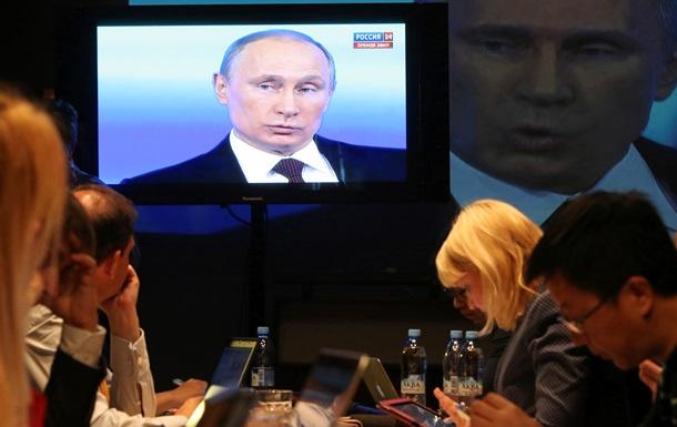 Бред это все - Путин о российских подразделениях в Украине