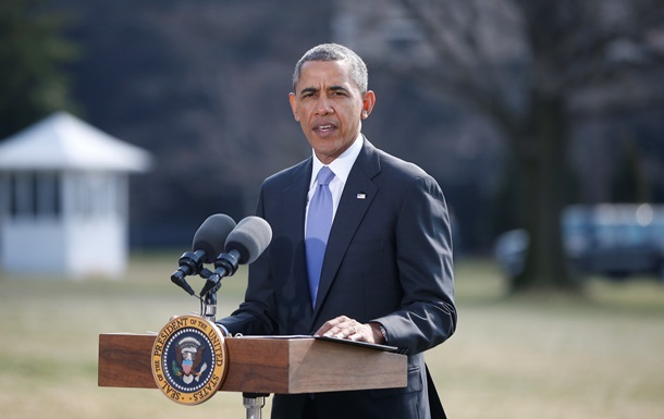 Обама исключил военное вмешательство США в ситуацию в Украине