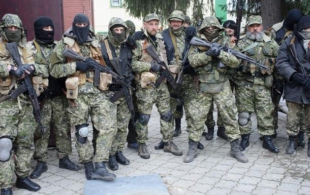 Вооруженные люди разогнали митинг за единство Украины в Славянске