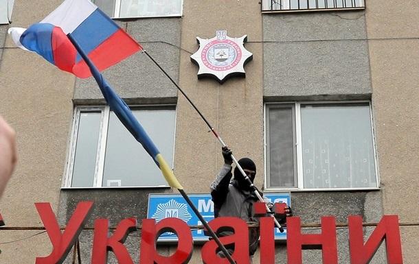 Милиция провела переговоры с захватчиками горотдела Горловки