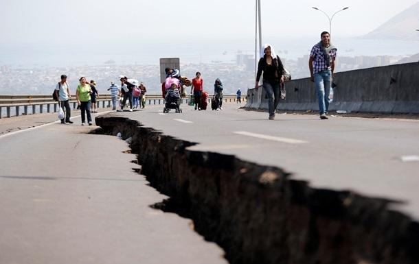 В Чили произошло землетрясение магнитудой 5,8