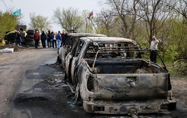 Народный мэр  Славянска сообщил подробности нападения на блок-пост