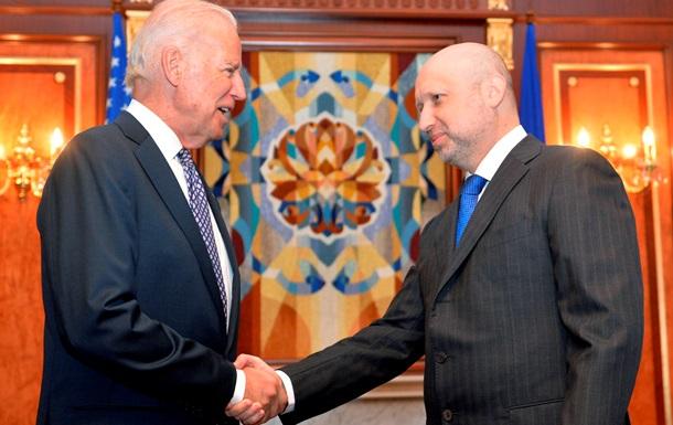 Турчинов - Байдену: Россия не выполняет женевских договоренностей
