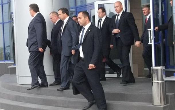 Охранник Януковича присвоил автомат госохраны