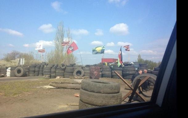 На окраинах Славянска обстреляли блокпосты - самооборона Донбасса