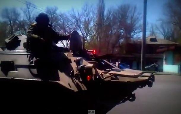 Войска России в восьми километрах от украинской границы
