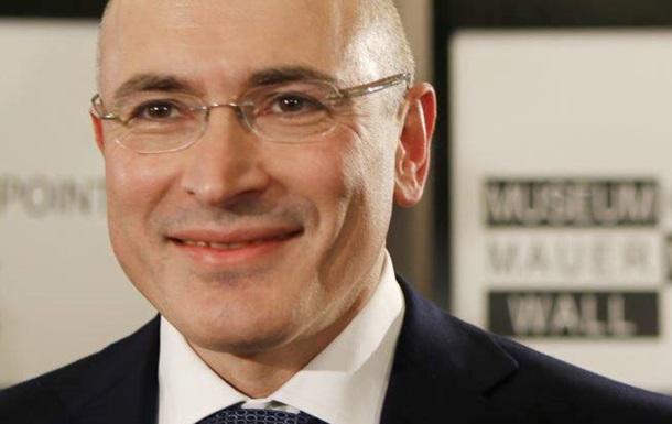 Ходорковский: Президент РФ использует свои служебные возможности для мести