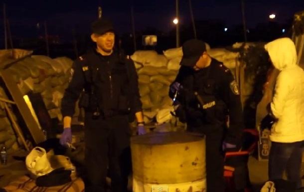 В Одессе на блок-пост Евромайдана бросили гранату, пострадали семеро