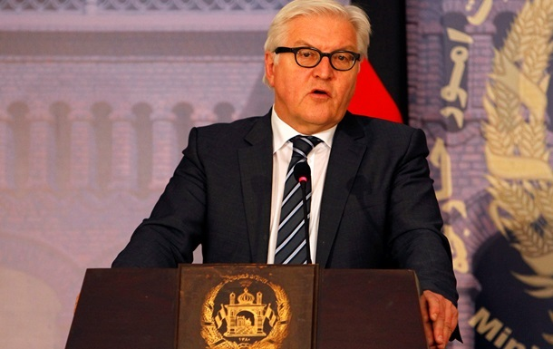 Германия призывает обсудить украинский кризис за  круглым столом