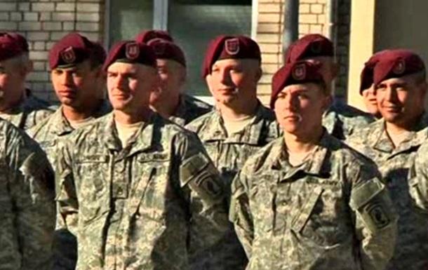 Американские десантники прибыли в Латвию