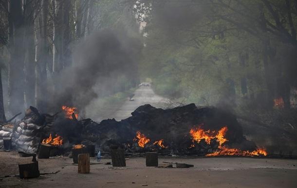 Все въезды в Славянск заблокированы – Полторак