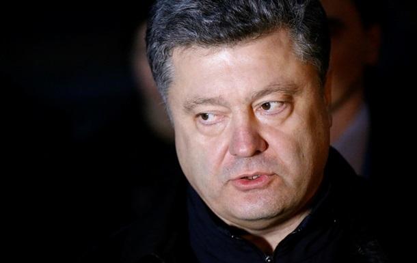 Петр Порошенко видит себя депутатом Европарламента от Украины