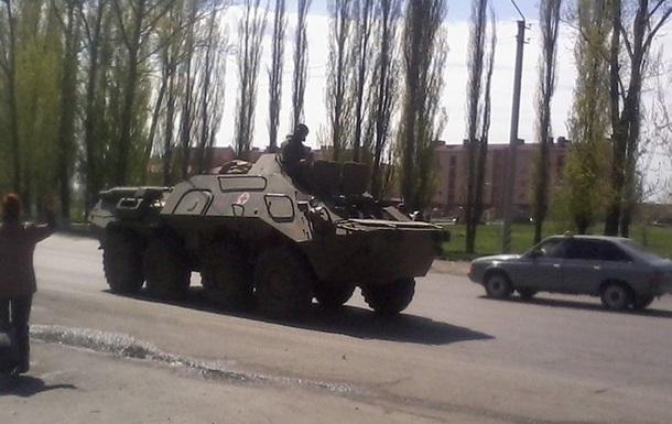 Пророссийские активисты в Артемовске требовали от военных сложить оружие – Минобороны