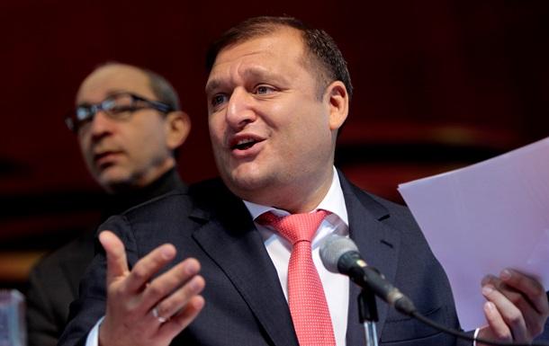Кандидаты в президенты Украины:  русский  регионал Добкин