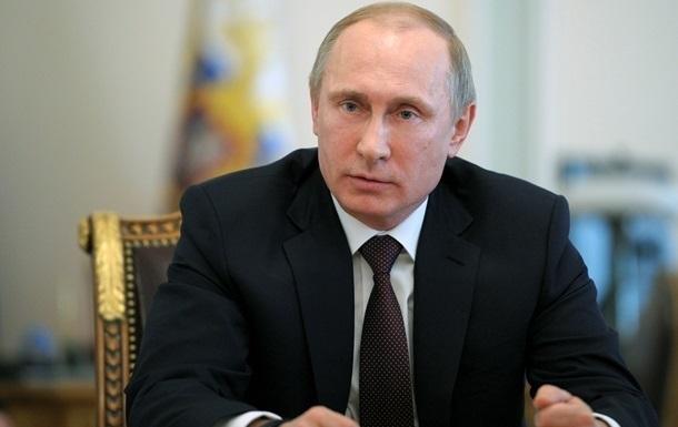 Путину насчитали рейтинг 77,5%