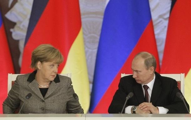 Путин и Меркель созвонились, чтобы обсудить ситуацию на Юго-Востоке Украины