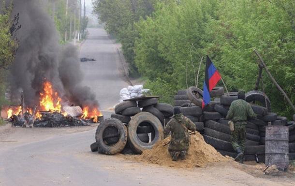 В Славянске протестующие хотят переговоров с властями - Минобороны