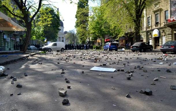Черный день Одессы. Фотогалерея
