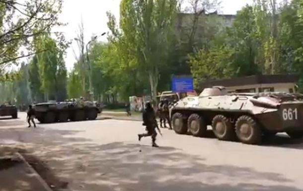 Антитеррористическая операция в Краматорске: 5 погибших, 17 пострадавших