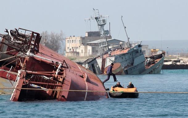 6 мая из Крыма будут выведены 5 украинских судов