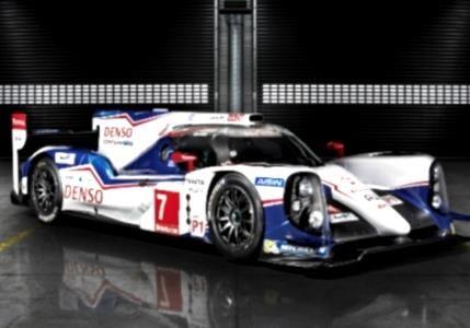 Toyota представила гибридный гоночный автомобиль