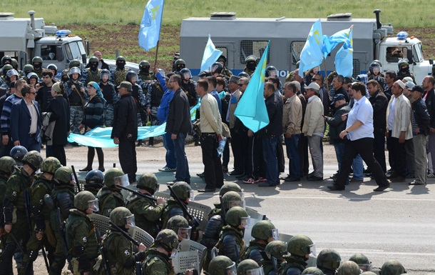 Россия начала наказывать крымских татар за акцию в поддержку Джемилева