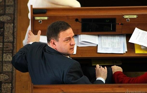 Одесскому губернатору не дали попрощаться с погибшим депутатом облсовета