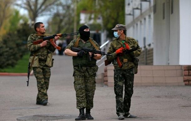 Юго-восточная армия  покинула Славяносербский райотдел милиции - МВД