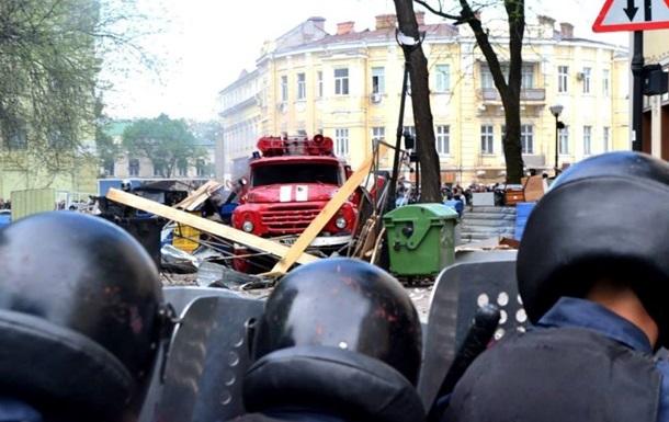 Одесские милиционеры готовы использовать оружие при захвате райотделов – начальник ГУ МВД