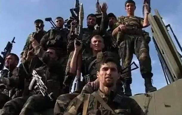 В Сети появилось видео о чеченском спецназе на Донбассе (видео)