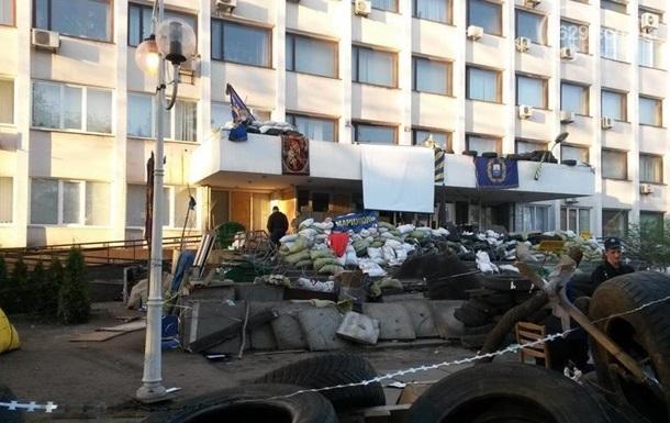 Возле Мариупольского горсовета произошли массовые потасовки