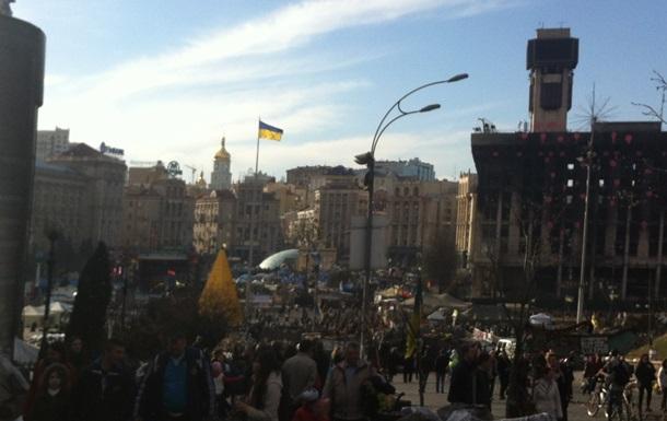 Активисты Майдана намерены осматривать всех подозрительных людей во время празднования 9 Мая