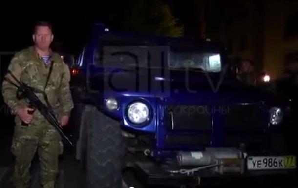 Бронеавтомобиль Жириновского прибыл в Луганск