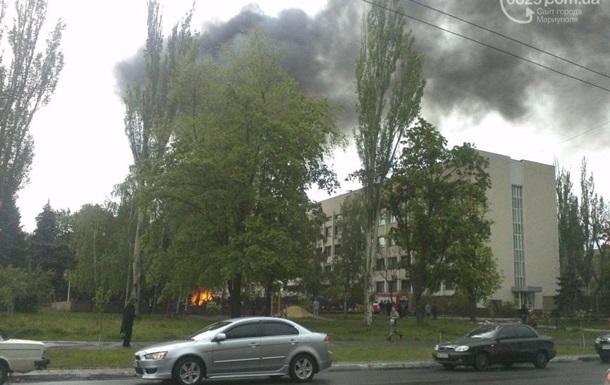 Украинские силовики штурмуют здание горсовета Мариуполя – СМИ