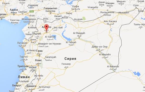 Боевики взорвали гостиницу в сирийском Алеппо