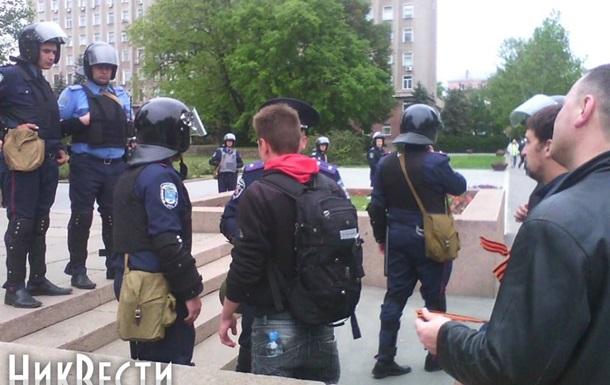 В Николаеве девять человек задержаны по подозрению в организации провокаций