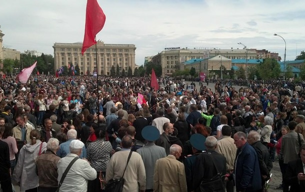 В Харькове отказались проводить референдум 11 мая