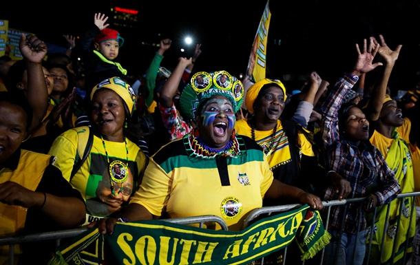 В ЮАР выборы в парламент выиграла правящая партия