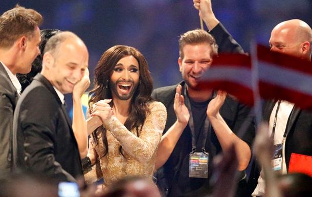 Кончита Вурст - победитель Евровидение-2014 - травести