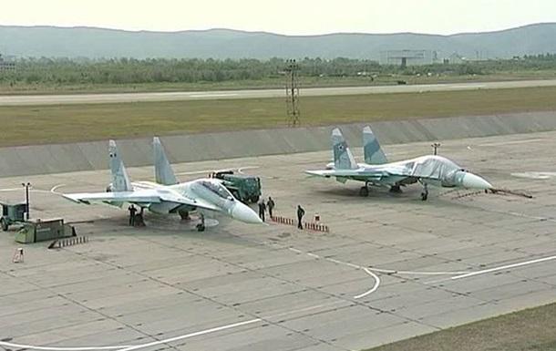 Россия проведет масштабные авиаучения во время выборов президента Украины