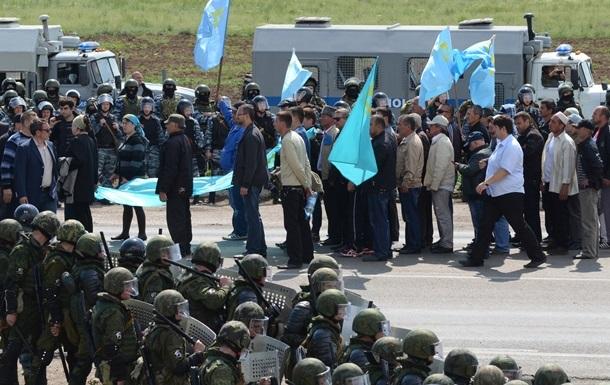 Крымских татар за акции протеста оштрафовали на 720 тысяч рублей