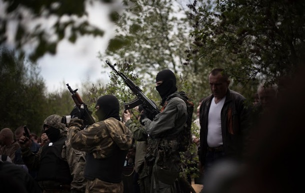 Возле Краматорска произошел бой между бойцами самообороны и Нацгвардии