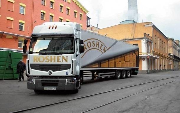 В Россию и Крым запретили ввозить продукцию Roshen – СМИ