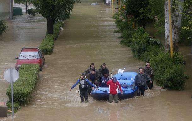 На Балканах объявлена чрезвычайная ситуация из-за наводнения